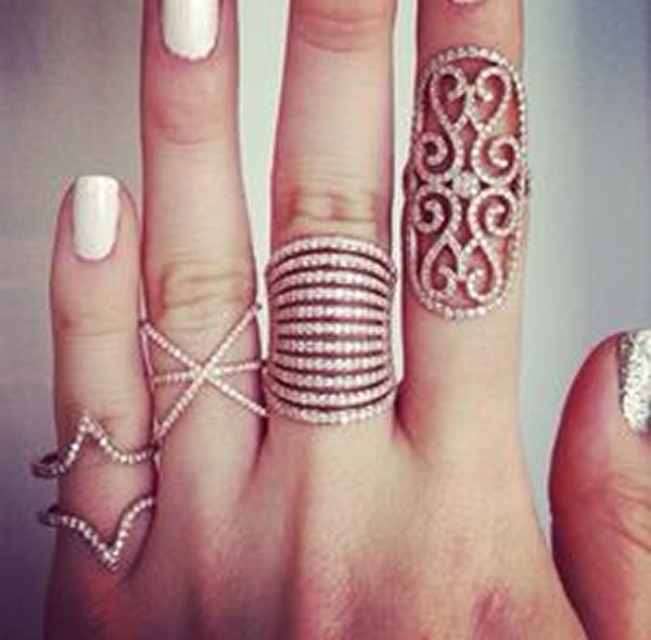 Latest designs for artificial rings 2016