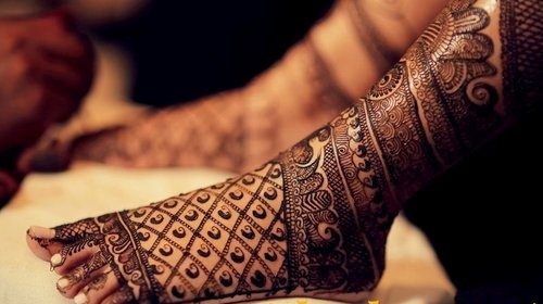 best foot wedding designs 2016
