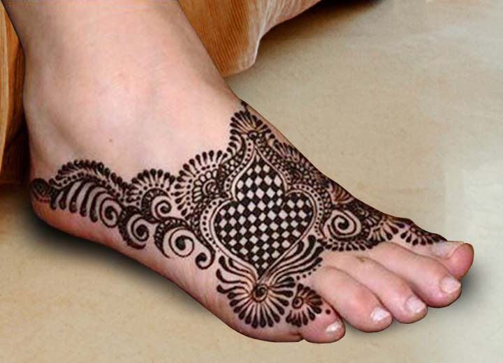 foot wedding mehndi henna designs 2016