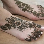 foot latest mehndi designs 2016