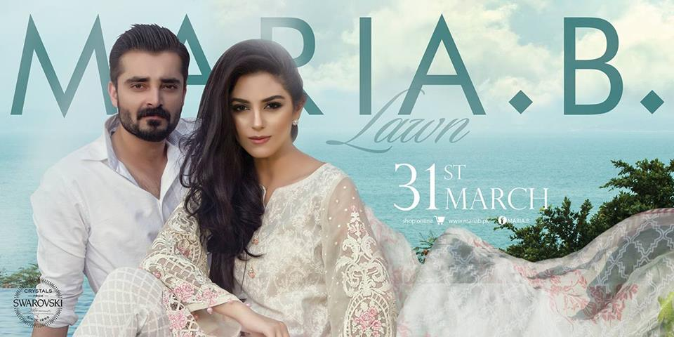 Maria B summer lawn collection 2016