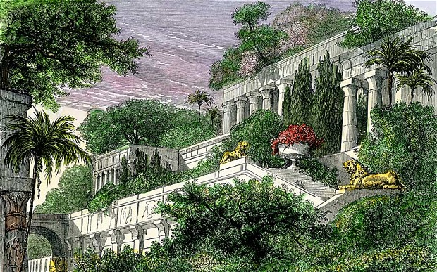 Hanging Gardens places in Babylon