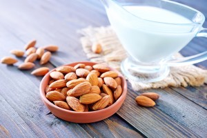 Almonds for skin protection