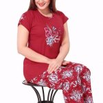Charming Red night wear 2016