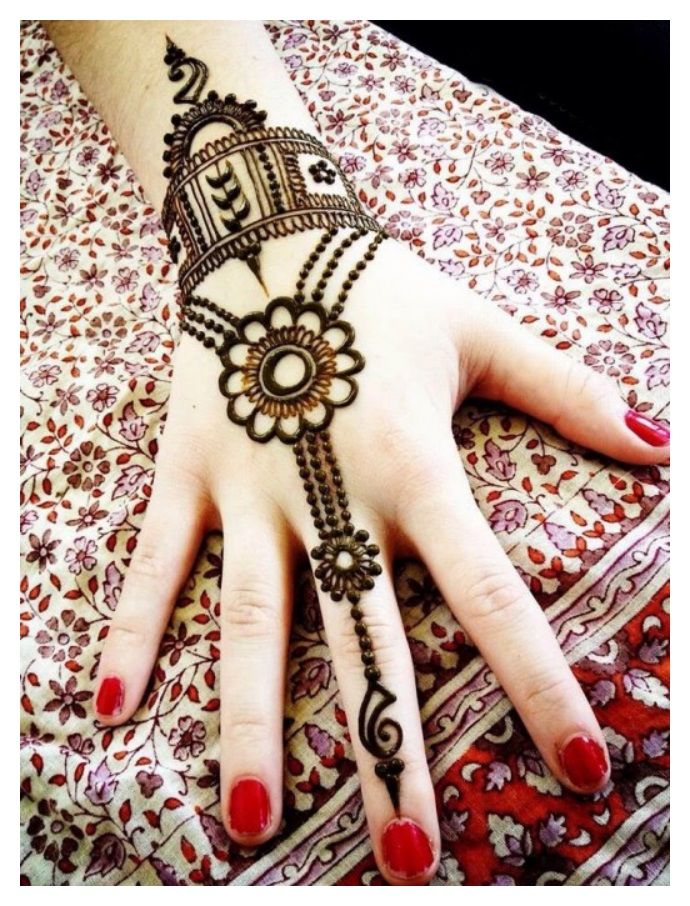 best Pakistani hand mehndi designs for eid