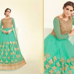 Flawless decorated Indian frocks for girls
