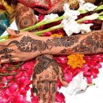 Beautiful wedding mehandi