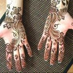 Stylish mehandi 2017