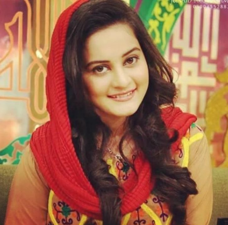 Aiman Khan Cute Bridals