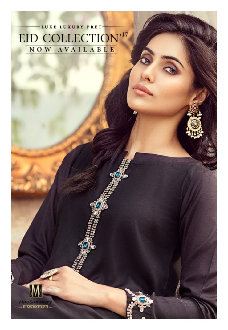Mausummery Luxury Eid ul Fiter Dresses Collection 2017 (1)