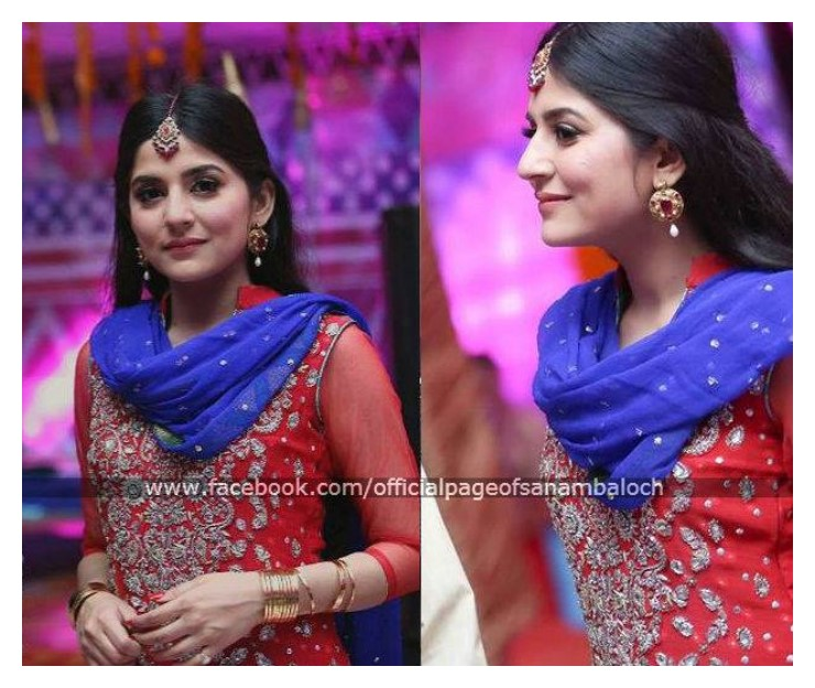 Sanam Baloch And Abdullah At Her Brother's Wedding