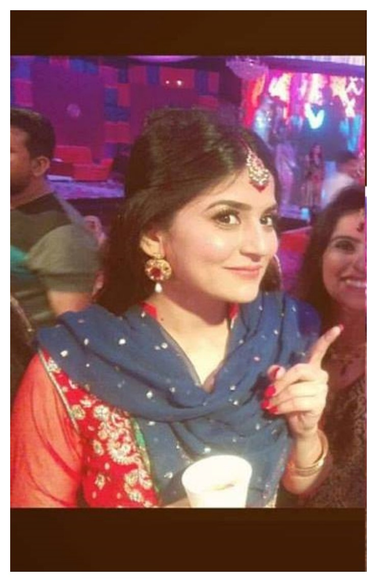 Sanam Baloch on her brother Wedding (5)