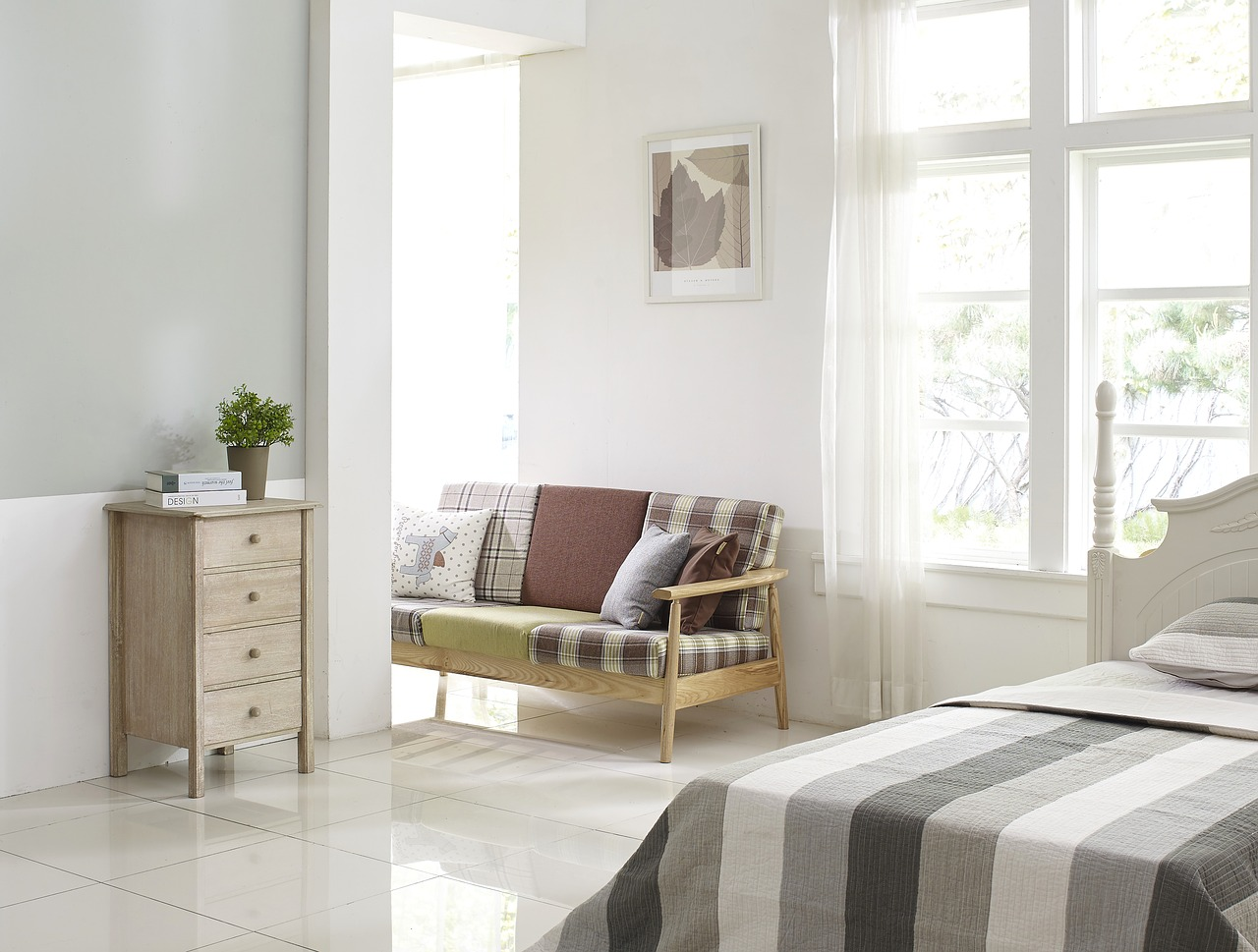Bedroom Cupboard Bed Room Sofa Window Living Room