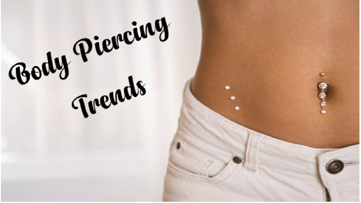 Piercing and Tattoos on Body