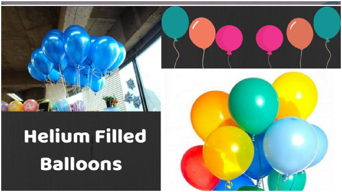 Helium Filled Balloons Photos for Party