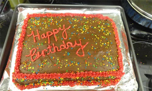 Best home baked birthday cake ideas