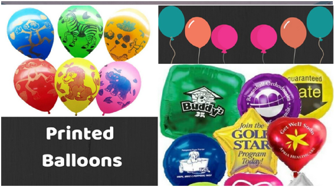New Custom Printed Balloons, Printed Balloons for Party Festives