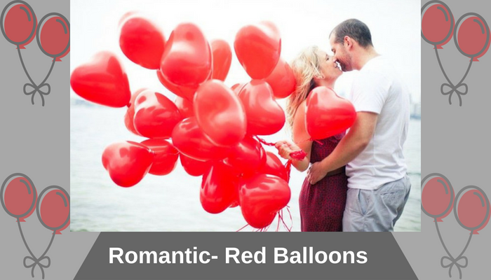Romantic- Red Balloons