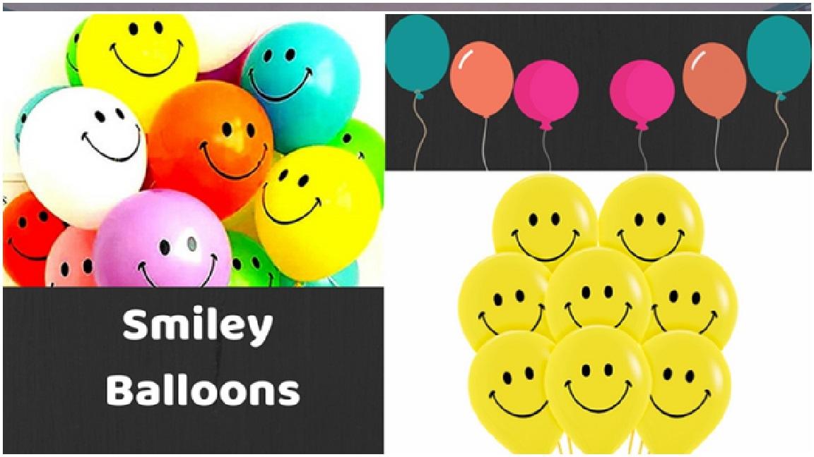 Smiley Balloons Ideas for boys Girls