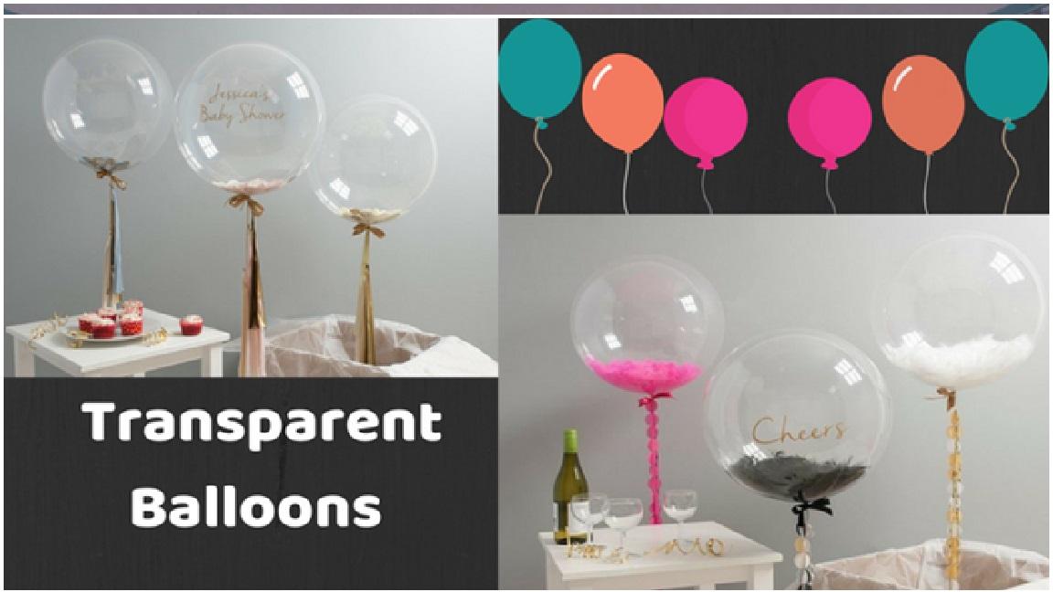 Transparent Balloons Photo