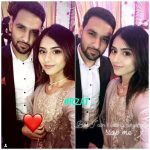 Zaid Ali with Wife Yumnah at a Wedding Ceremony (3)