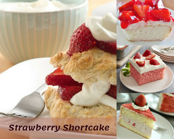 What is strawberry shortcake made out of?