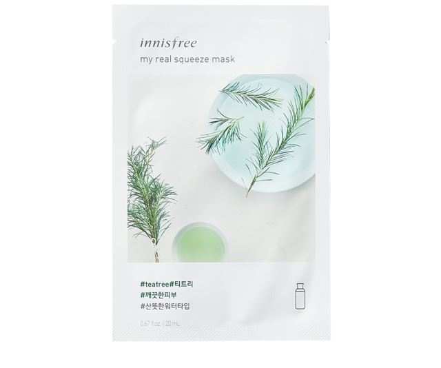 My Real Squeeze Mask - Tea tree by Adour