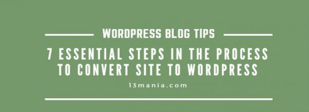 Manually Converting Your Static HTML Site to WordPress